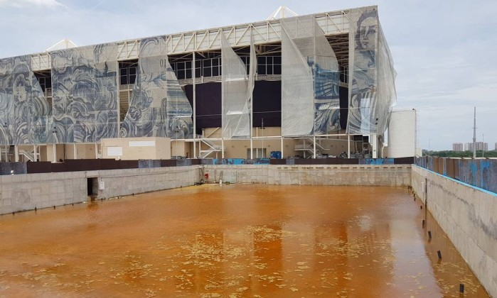 Parque Olímpico da Olimpíada do Rio está completamente abandonado