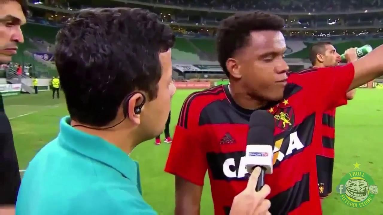 As entrevistas mais engraçadas do futebol
