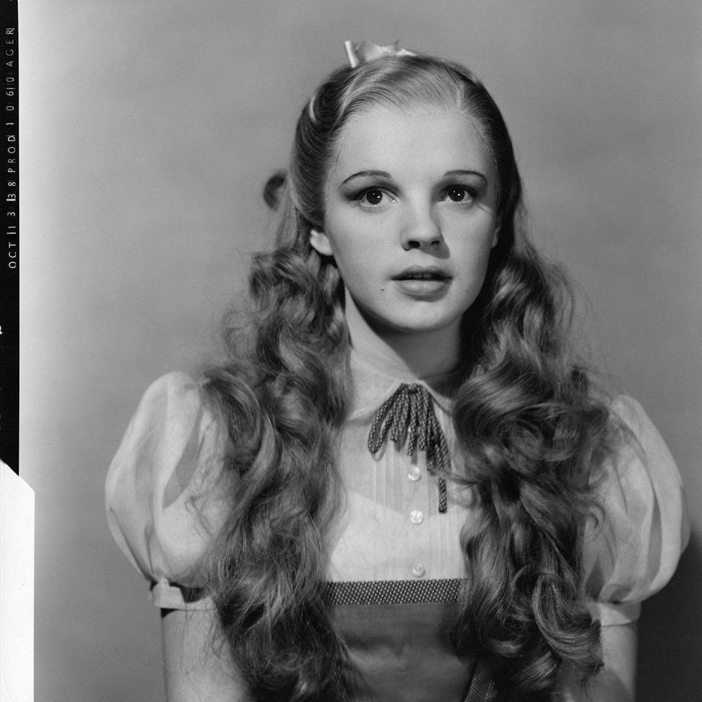 Teste de Judy Garland para o Mágico de Oz, em 1939