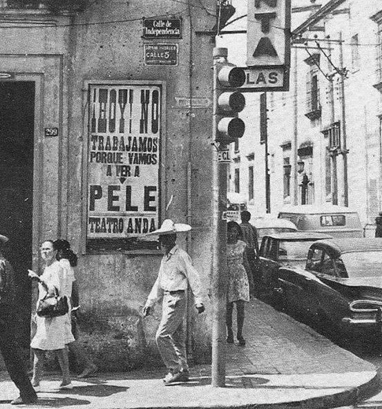 """""""Hoje não trabalharemos, porque vamos ver Pelé"""", era assim que os mexicanos encararam a Copa de 1970"""