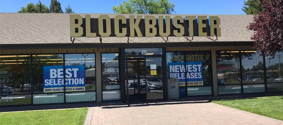 Esta é oficialmente a última locadora Blockbuster dos Estados Unidos. Fica em Bend, Oregon