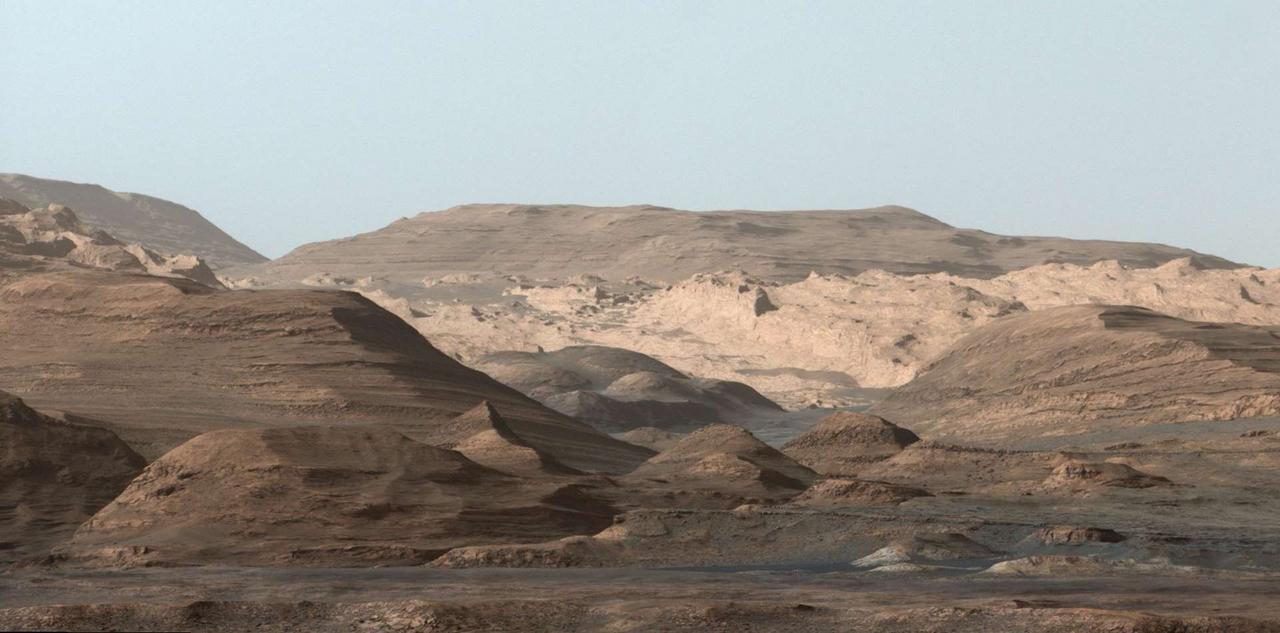Foto de Marte divulgada pela NASA. Vendo assim, parece bem familiar