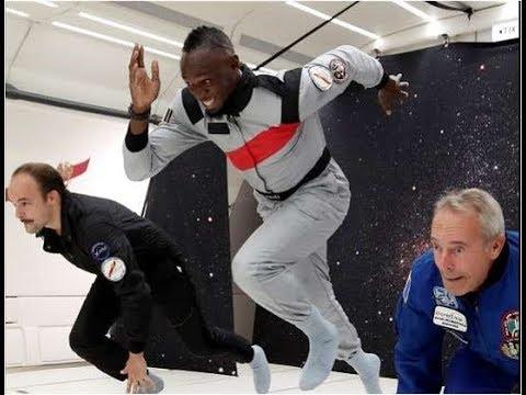 Tem Na Web - Bolt tenta correr sem gravidade;