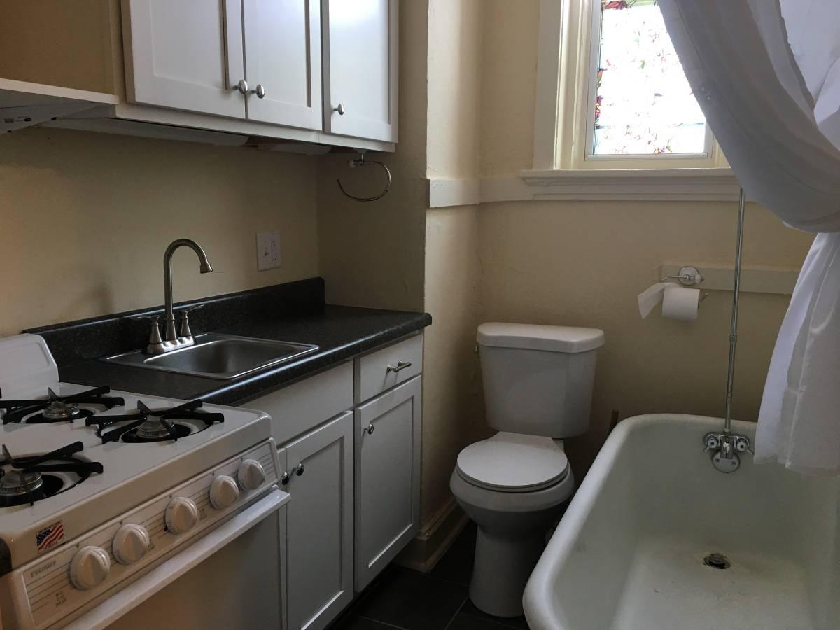 O aluguel deste apartamento em St Louis custa US$ 525 / mês