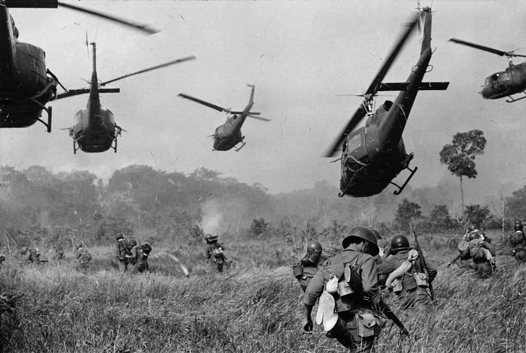 Registro da Guerra do Vietnã, em 1965