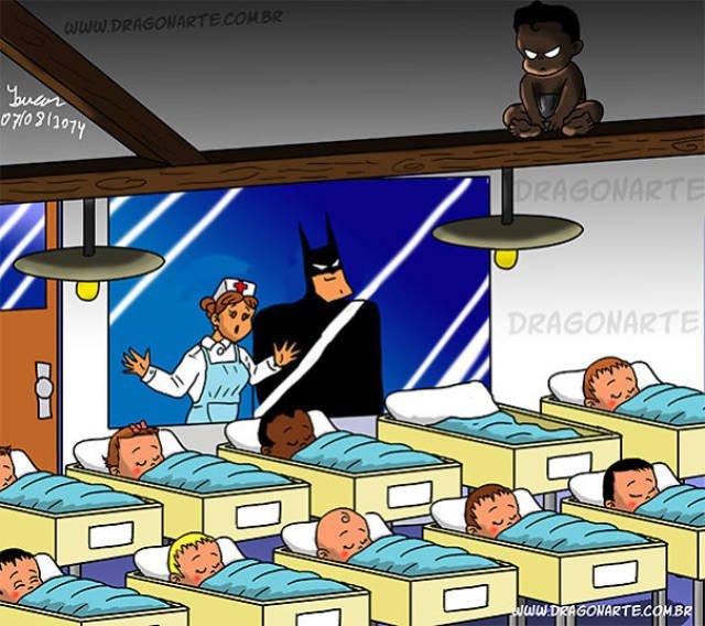 Como seria se os heróis tivessem filhos