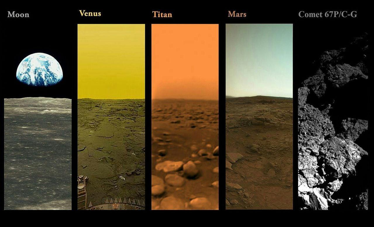 Fotografias tiradas fora da Terra pela NASA