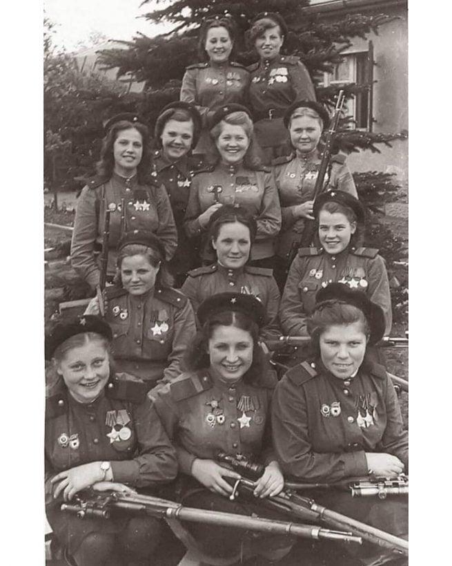 Essas 12 mulheres juntas tiveram 775 mortes nazistas confirmadas