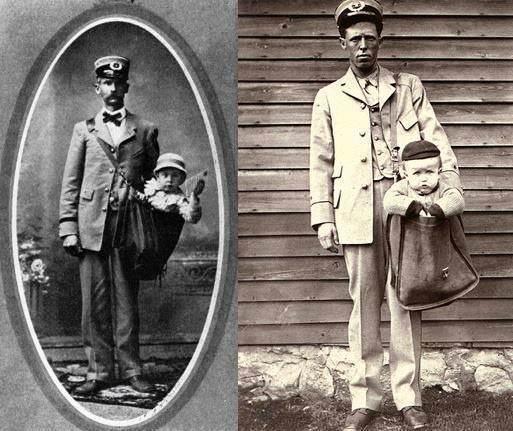 Em 1913, nos EUA, era possível enviar crianças pelo correio. Com selos presos às roupas, elas viajavam de trem acompanhadas de um porta-cartas