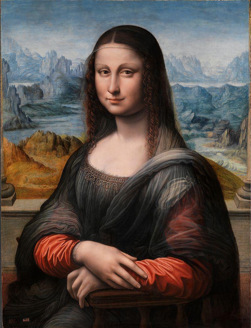 Todo mundo conhece a Mona Lisa de Leonardo Da Vinci, mas a maioria das pessoas não sabe que ele não foi o único a pintá-la. Um dos seus alunos também retratou a mesma mulher pintada por Da Vinci, mais jovem e com o rosto mais fresco, mas com a mesma pose e o mesmo sorriso enigmático, porém em melhores condições que a pintura famosa. Atualmente ela está exposta no Museu do Prado, em Madrid