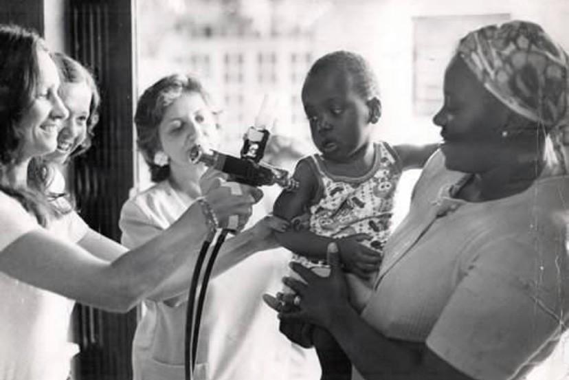 Processo de vacinação da década de 70