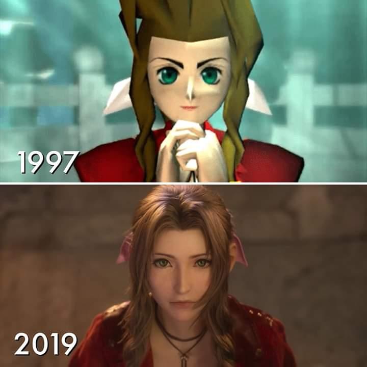 A evolução gráfica de Final Fantasy