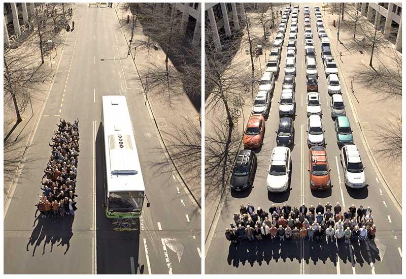 Benefícios do transporte público que pouca gente percebe