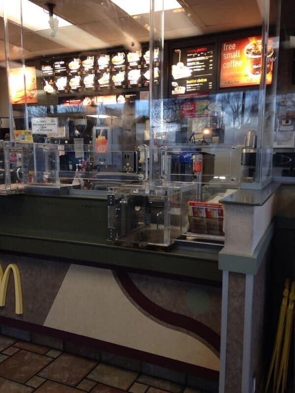 McDonald's à prova de balas em Detroit