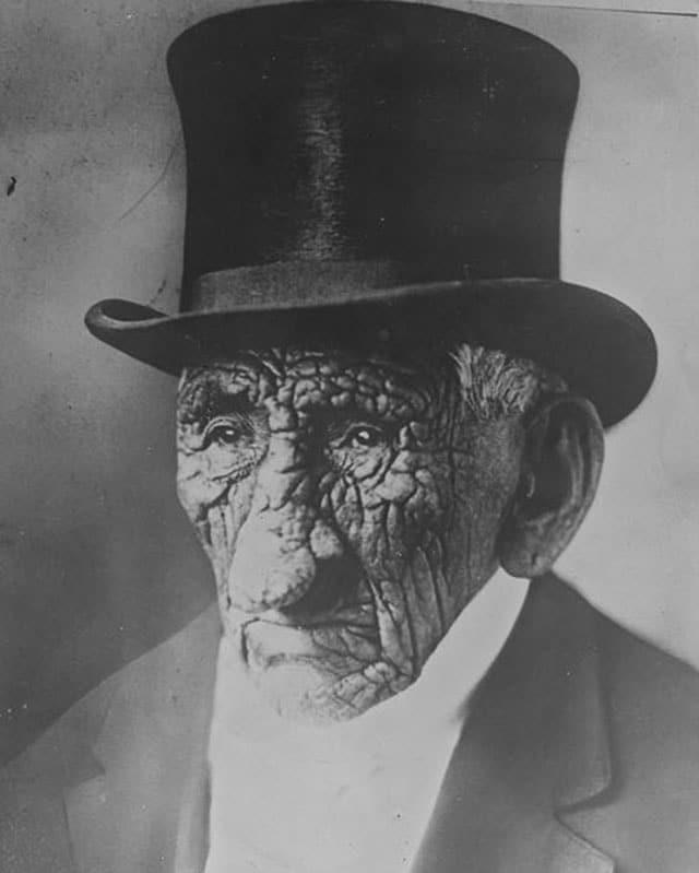 John Smith, aos 138 anos, quando morreu, 1784 - 1922