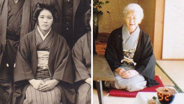 Kane Tanaka, a pessoa mais velha do mundo faz 117 anos