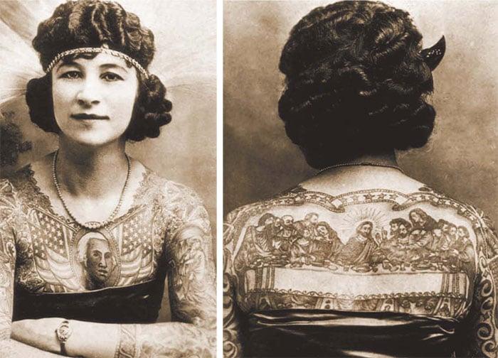 Anna Mae fugiu da fazenda de sua família em Wisconsin para juntar-se a um circo, onde conheceu o tatuador Charles