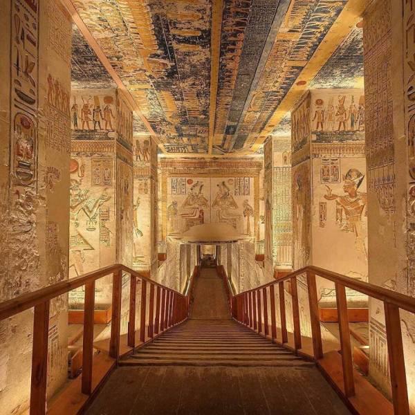 Túmulo de Ramsés VI, no Egito