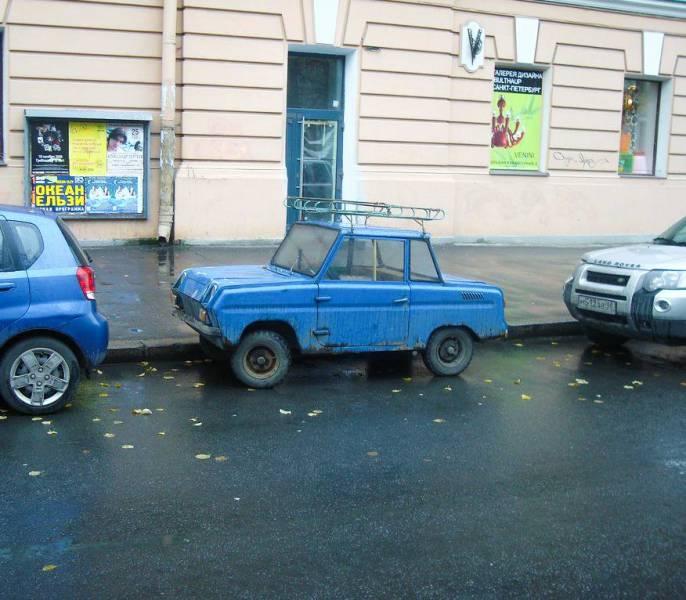 O russo SMZ S3d, um dos menores carros já fabricados no mundo