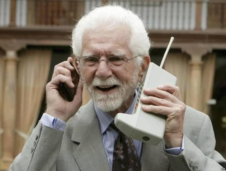 Martin Cooper, inventor do primeiro telefone celular