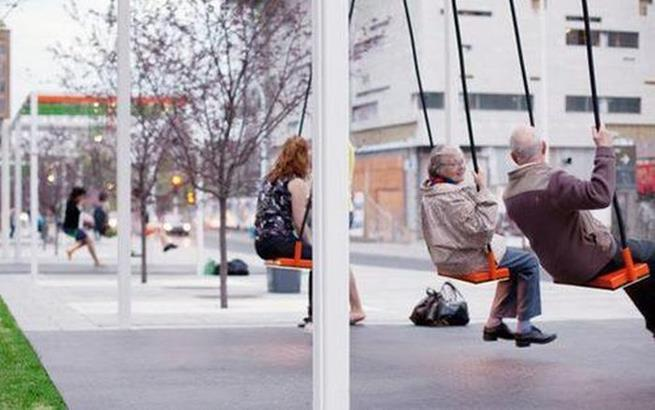 Apenas um ponto de ônibus no Canadá