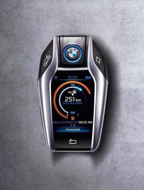Chave de uma BMW i8