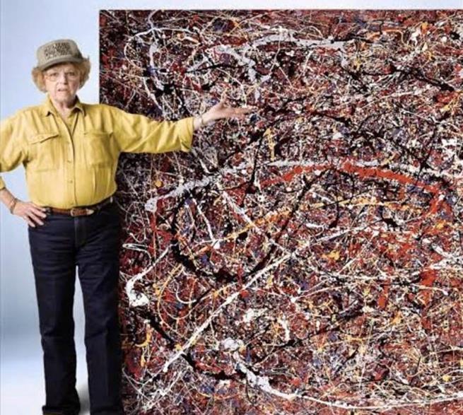 """/></noscript>Teri Horton comprou uma pintura de segunda mão por US$ 5 e descobriu que poderia ser um Jackson Pollock oriignal. Ela passou anos tentando provar sua autenticidade e chegou até a negar uma oferta de US$ 9 milhões, alegando não vender por menos de US$ 50 milhões. A obra ainda está com ela"""" class=""""wp-image-158956″/><figcaption><b>Teri Horton comprou uma pintura de segunda mão por US$ 5 e descobriu que poderia ser um Jackson Pollock oriignal. Ela passou anos tentando provar sua autenticidade e chegou até a negar uma oferta de US$ 9 milhões, alegando não vender por menos de US$ 50 milhões. A obra ainda está com ela</b></figcaption></figure> <figure class="""