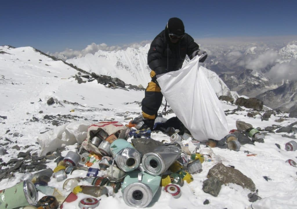 O tráfego não é o único problema no Monte Everest
