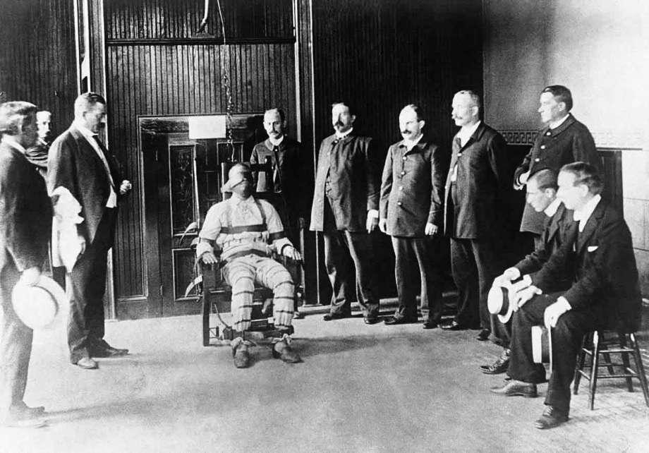 Primeira execução de cadeira elétrica, Penitenciária Estadual de Auburn, 6 de agosto de 1890
