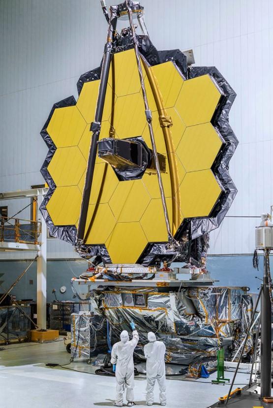 Telescópio que a NASA está preparando para lançar cuja tecnologia pode estudar todas as fases da história do nosso Universo, desde o Big Bang até a formação de estrelas e planetas.