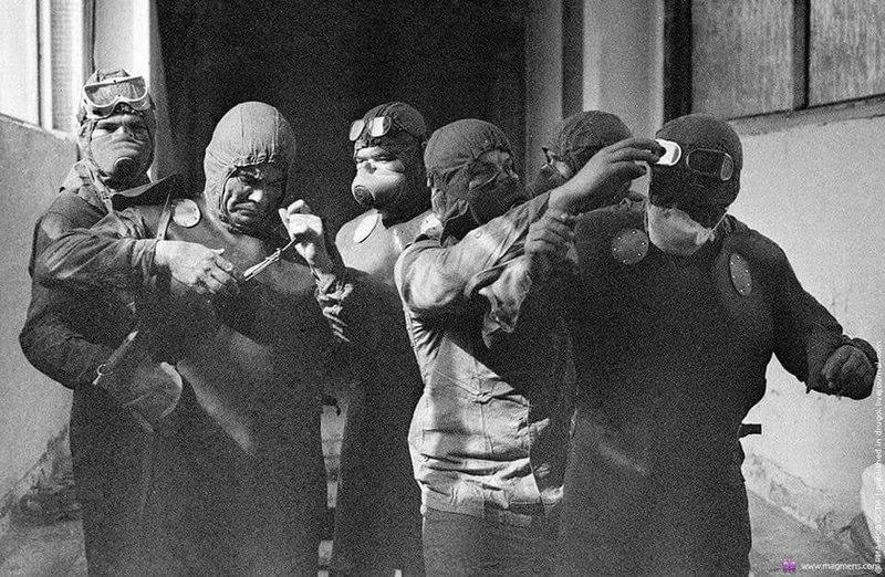 Heróis de Chernobyl, que sacrificaram suas vidas em nome de outras: Alexei Ananenko, Valeri Bezpalov e Boris Baranov