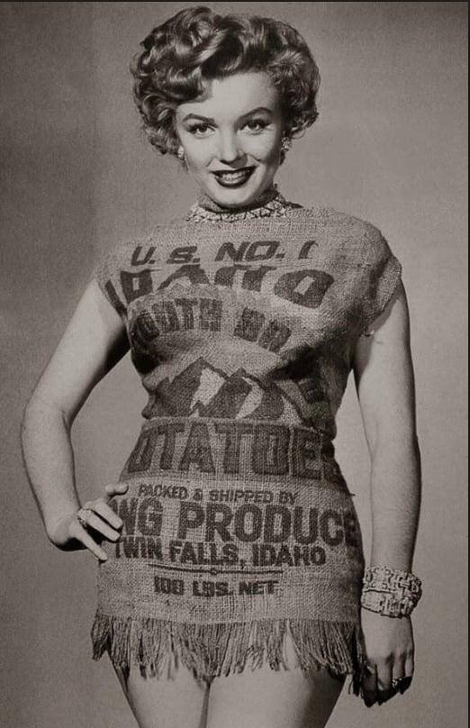 Em 1951, um jornalista escreveu que Marilyn Monroe parecia