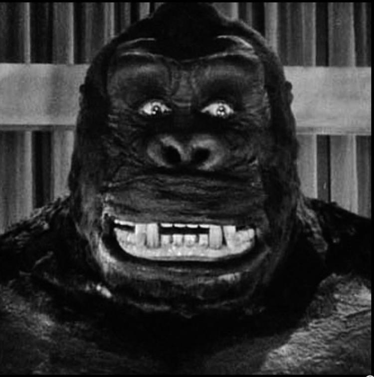 Esta era a aparência do King Kong de 1933