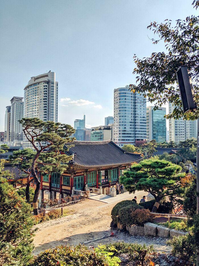 Coreia moderna construída em torno da Coreia histórica (Seul).