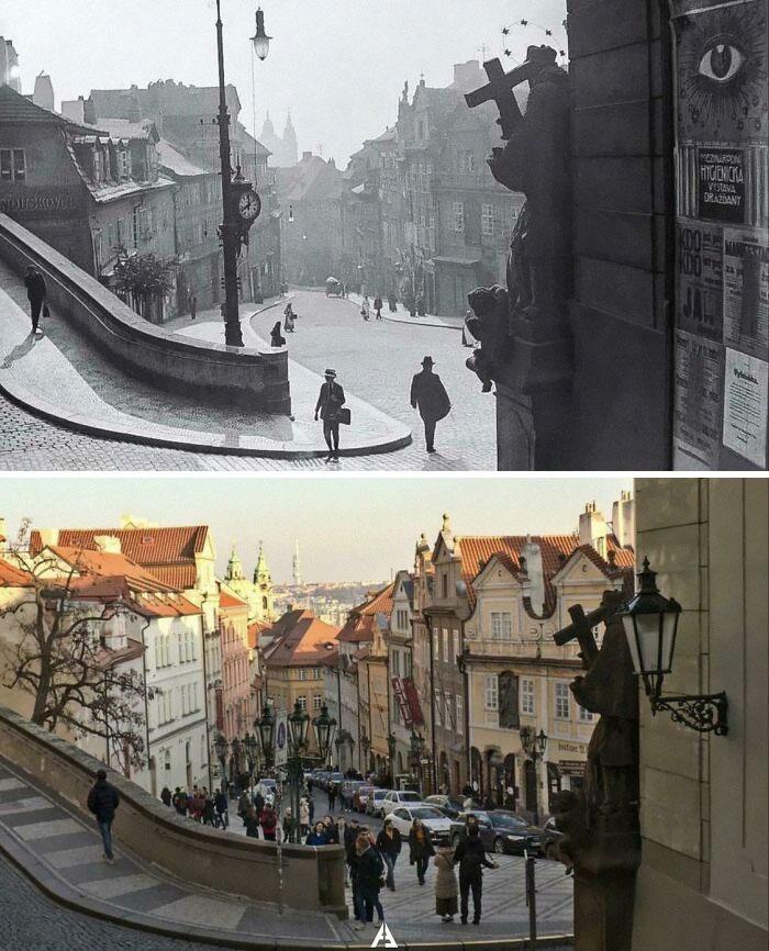 Praga, 1910 e 2020