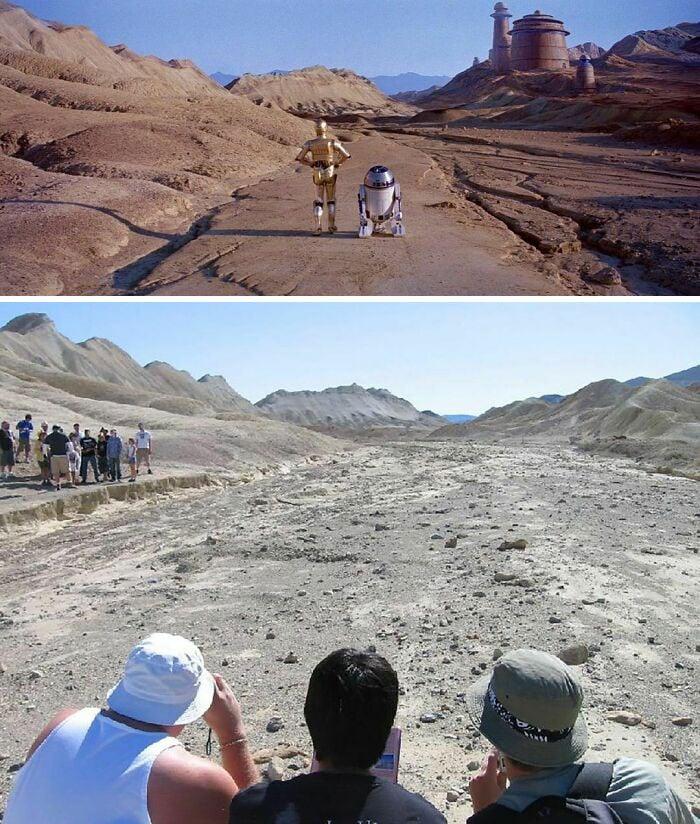 Em 2005, alguns amigos descobriram o caminho para o palácio de Jabba, no Vale da Morte, na Califórnia