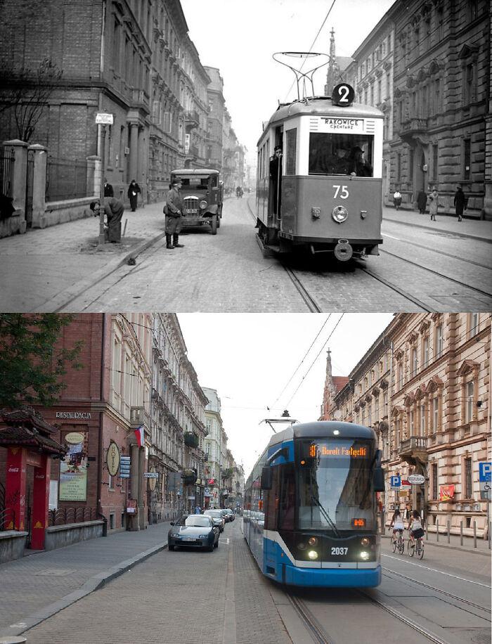 Cracóvia, Polônia, 1939 e 2010