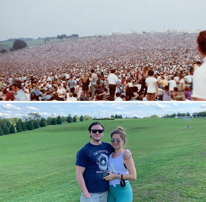Espaço onde aconteceu o Festival de Woodstock - 1969 / 2020