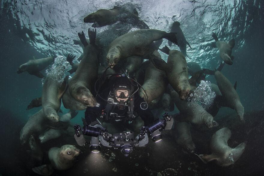 Fotógrafo de aventura, Steve Woods