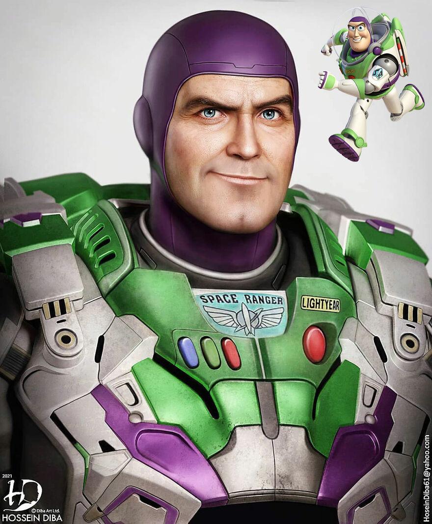 Buzz Lightyear de Toy Story