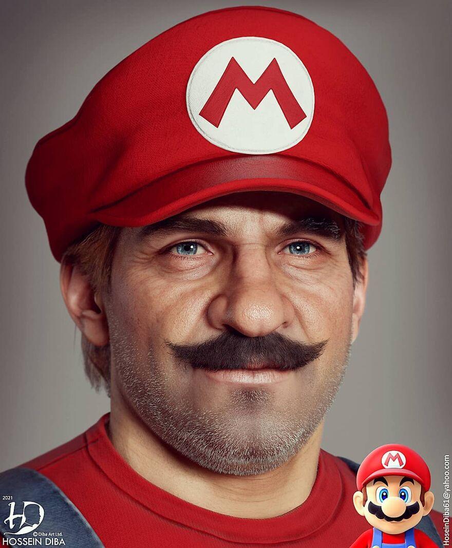 Mario do Super Mario