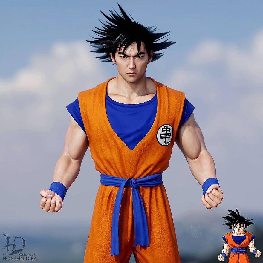 Goku de Dragon Ball