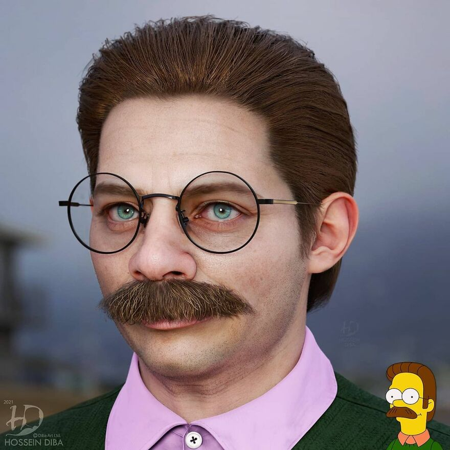 Ned Flanders dos Simpsons