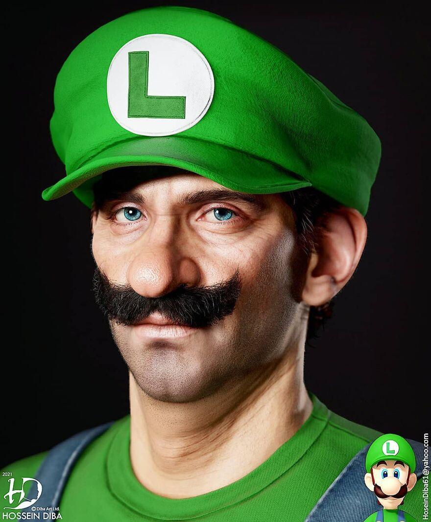 Luigi do Super Mario