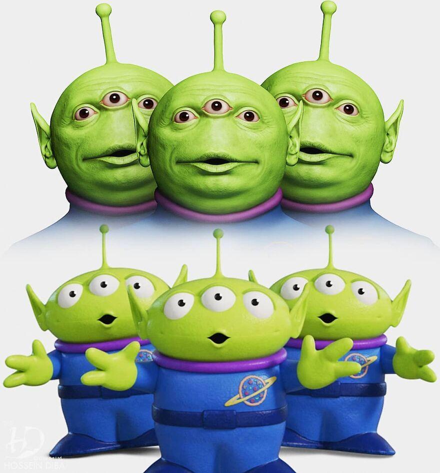 Aliens de Toy Story