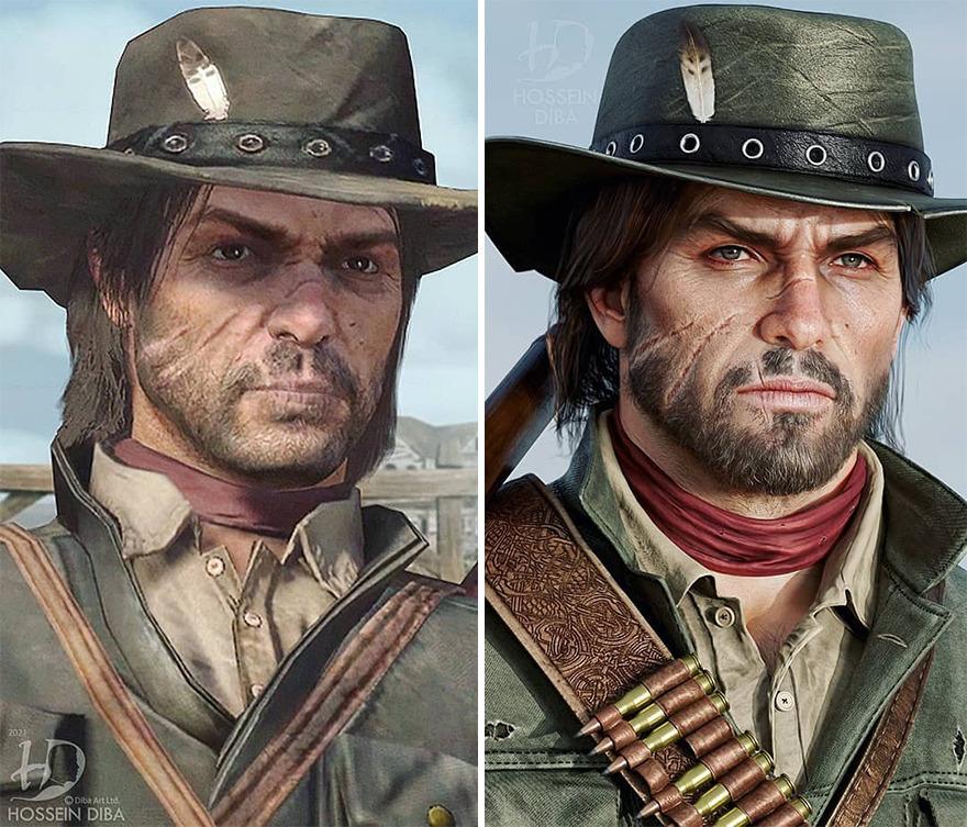 John Marston do Red Dead Redemption
