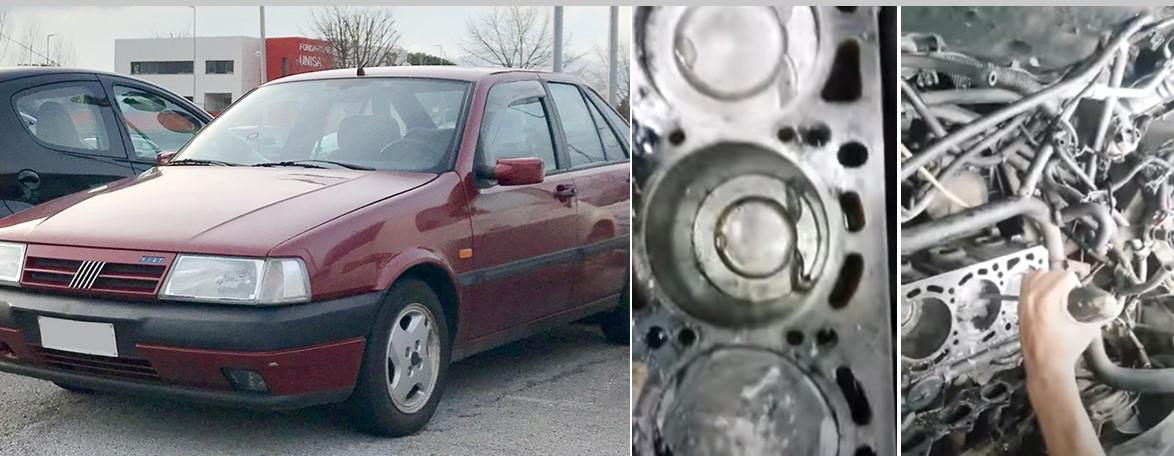 Homem leva carro para oficina e descobre que dono antigo colocou CIMENTO no motor